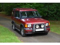 Land Rover Discovery 2 TD5 GS 1999 (T) Red 5 Seat Diesel - Spares or Repair