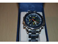 Sekonda 3850 Divers Stainless Steel Mens Ana/Digi Chronograph Quartz Watch