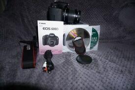 Canon EOS 600D 18.0MP Digital SLR Camera Kit w/ EF-S 18-55mm is ii Lens