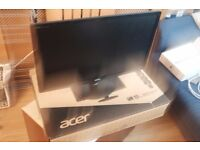 """Acer LED Widescreen Monitor 24"""" Full HD 1080 - S240HL - Mint condition"""