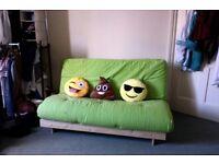 Hardly used Futon / Double sofa bed
