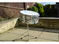 Gear4Music Snare Drum and Stand