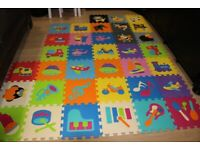 Baby puzzle mat 36 pieces in large size rrp 65 gbp
