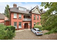 This two bedroom flat is situated within an imposing period property on Harold Road