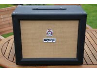 Orange PPC112 1x12 upgraded with ET65 speaker