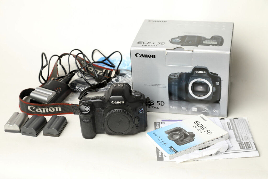 Canon EOS 5D Full frame, 12.8 Megapixels Camera Body | in Cottenham ...