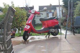 2006 Red Vespa