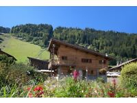 HALF PRICE - late summer discount for a self-catered luxury chalet in Morzine.