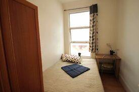 SINGLE ROOM TO RENT WITH DOUBLE BED NEXT TO GOSPEAL OAK OVERGROUND TUBE STATION. 80Q