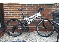 Schwinn DS Graft Mens Large Dual Suspension Mountain Bike