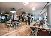 IN STUNNING GRADE 1 TOWN DESK SPACE FOR RENT IN 22 UPPER GROUND SOUTH BANK LONDON