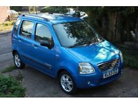 Suzuki Wagon R+ 2003, 1.3, MOT till 25/08/17, 118,000 miles, Economical and in Great Condition