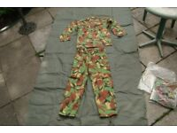 DRAGON Supplies Jungle DPM Camo SUIT - (Shirt AND Trousers)
