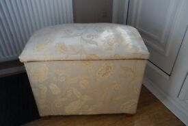 storage chest with domed lid