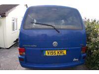 VW T4 Caravelle 2.5TDI 186,000miles.