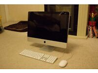 """Apple iMac 21.5"""" 2011 intel i3 3.1GHz 8GB RAM 250gb HDD boxed wifi, Keyboard and mouse"""