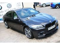 LATE 2012 BMW 520D M SPORT 181BHP SALOON *NIGHT EDITION SPEC* ( FINANCE & WARRANTY)