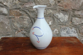 Vintage Irish Handthrown Wine Carafe jug Stoneware Jackson Pottery Studio Art Pottery Decanter Vase