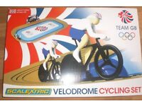 Electronic cycle track race game