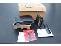 V media HD Cable Box + remote + Wifi modem package