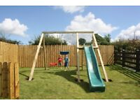 Monkey Bar Swing Sets, Slides, Outdoor Play, Garden Toys, from £490