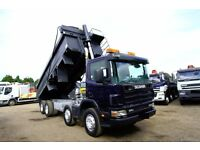 2004 SCANIA 114 340 8X4 TIPPER TRUCK SCANIA TIPPERS FOR SALE SCANIA 6X4 VOLVO TARMAC TIPEPR DAF MAN