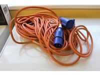 25M Caravan Motorhome Mains Hook Up Cable 2.5mm Site Lead