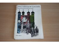 Original 1974 Official Book On The Tower Of London