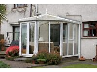 PVC Victorian Conservatory: Great Condition!