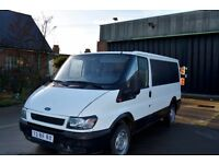 VERY NEAT LEFT HAND DRIVE FORD TRANSIT VAN, DRIVES PERFECTLY,GOOD ENGINE,MECHANICS & LOAD SPACE.