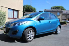 Mazda 2 1.3 TS2 5DR. 2011 30,900miles FSH,MOT till MAR 2019