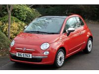 *Beautiful Top Spec.*2008 Fiat 500 1.3 Multi-Jet Diesel 3DR, Panoramic Roof, 12 Months Warranty