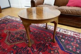 Antique / Vintage Small Wooden Round Occasional Table (coffee table)