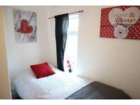 Freshly decorated single room in Wednesbury, Most bills inclusive of rent. No Deposit.