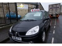 Renault Scenic Black for sale - Kirkcaldy - full year MOT and 3 month warranty.