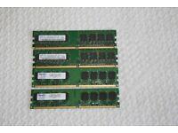 2 MEMORY STICKS 512MB DDR2