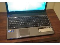 Laptop Acer 15.6'' Intel i3 Windows 7 with Webcam HDMI