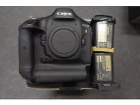 Canon 1Dx boxed, recently serviced by CPS, with 2nd battery