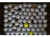 Job Lot of 66 Used/New looking Golf Balls