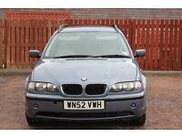 BMW 320d TOURER / ESTATE, 50mpg, losts of history, good condition