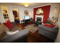MORNINGTON CRESCENT NW1 LARGE COZY ONE BEDROOM GARDEN FLAT IN VICTORIAN CONVERSION 1 MINUTE TO TUBE