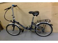 """Folding bicycle: """"Apollo"""", 20in wheels, six speed. SOLD"""