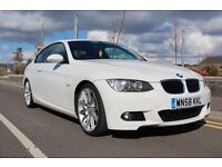 Stunning BMW 3 SERIES M SPORT COUPE model with FACTORY EXTRAS just 48,500 miles!! excellent conditon