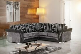 **SAME DAY FAST DELIVERY** BRAND NEW FARROW SHANNON CORNER OR 3 AND 2 SEATER SOFA, UNIVERSAL ARMREST