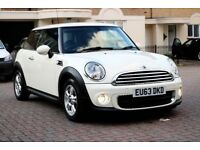 MINI HATCH ONE 1.6 AUTOMATIC 3 DOOR FSH HPI CLEAR 2 KEYS EXCELLENT CONDITION