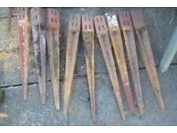 FENCE POSTS and FENCE SPIKES