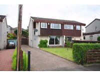 3 Bed Furnished Semi, Balmoral Rd, Elderslie