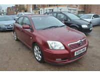 TOYOTA AVENSIS 2.0 D-CAT T4 4dr (red) 2004
