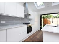 A newly refurbished house offering four bedrooms and a private garden, situated on Links Road.