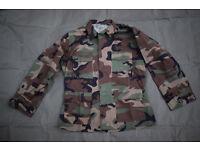 US Army Woodland BDU Lightweight Combat Jacket #A